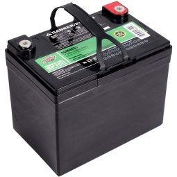 Sealed Lead Acid (SLA) AGM Deep Cycle Battery (DCM0035) Insert Terminals - 12V 35AH