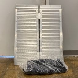 "Single Fold Portable Ramp - 3' x 30"" - Open Box"