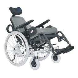 Spring Tilt-in-Space High Back Wheelchair