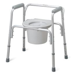 Aluminum Bedside Commode