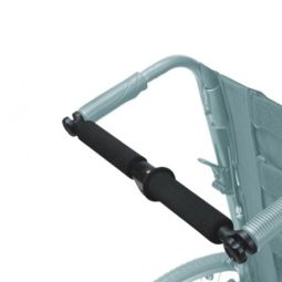 Foldable Rigidifying Push Bars For Ergonomic Wheelchair