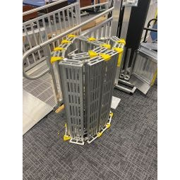 "Aluminum Roll-Up Ramp - 7' Length x 36"" Width - Demo Floor Model"