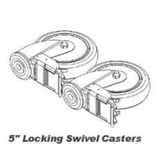 Caster Kit for HML400 Hoyer Lift