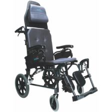 MVP502TP Transport Reclining Wheelchair