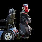 Golf Bag Holder for Afiscooter S4 Lux